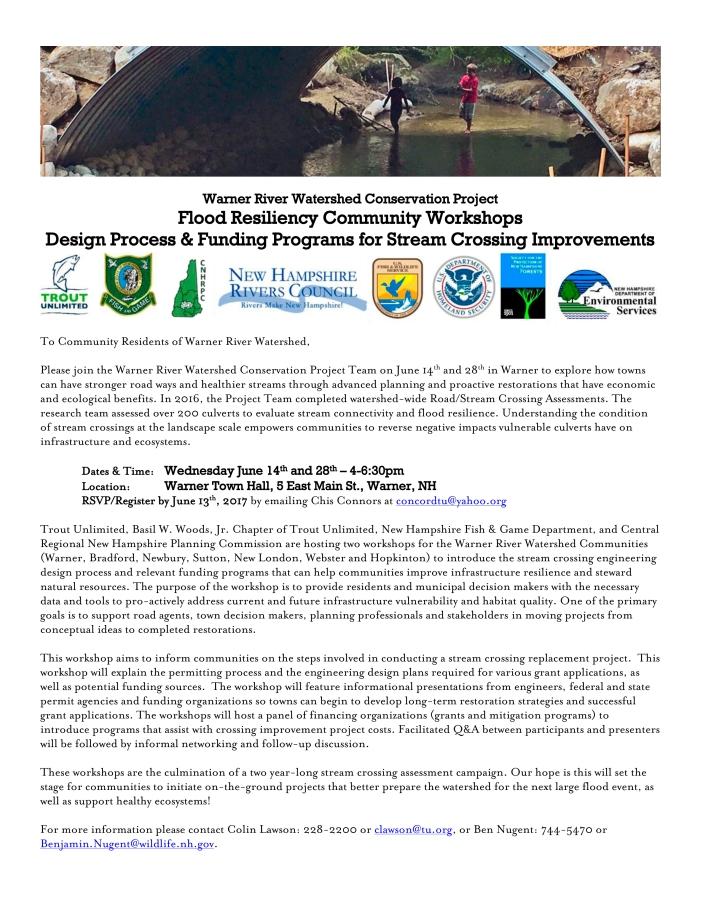PRESS RELEASE Flood Resiliency Workshops 2017 6 12_WEB